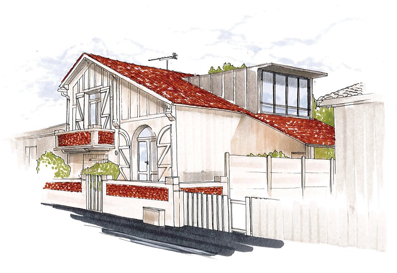 Projet extension maison - St-Hilaire-de-Riez