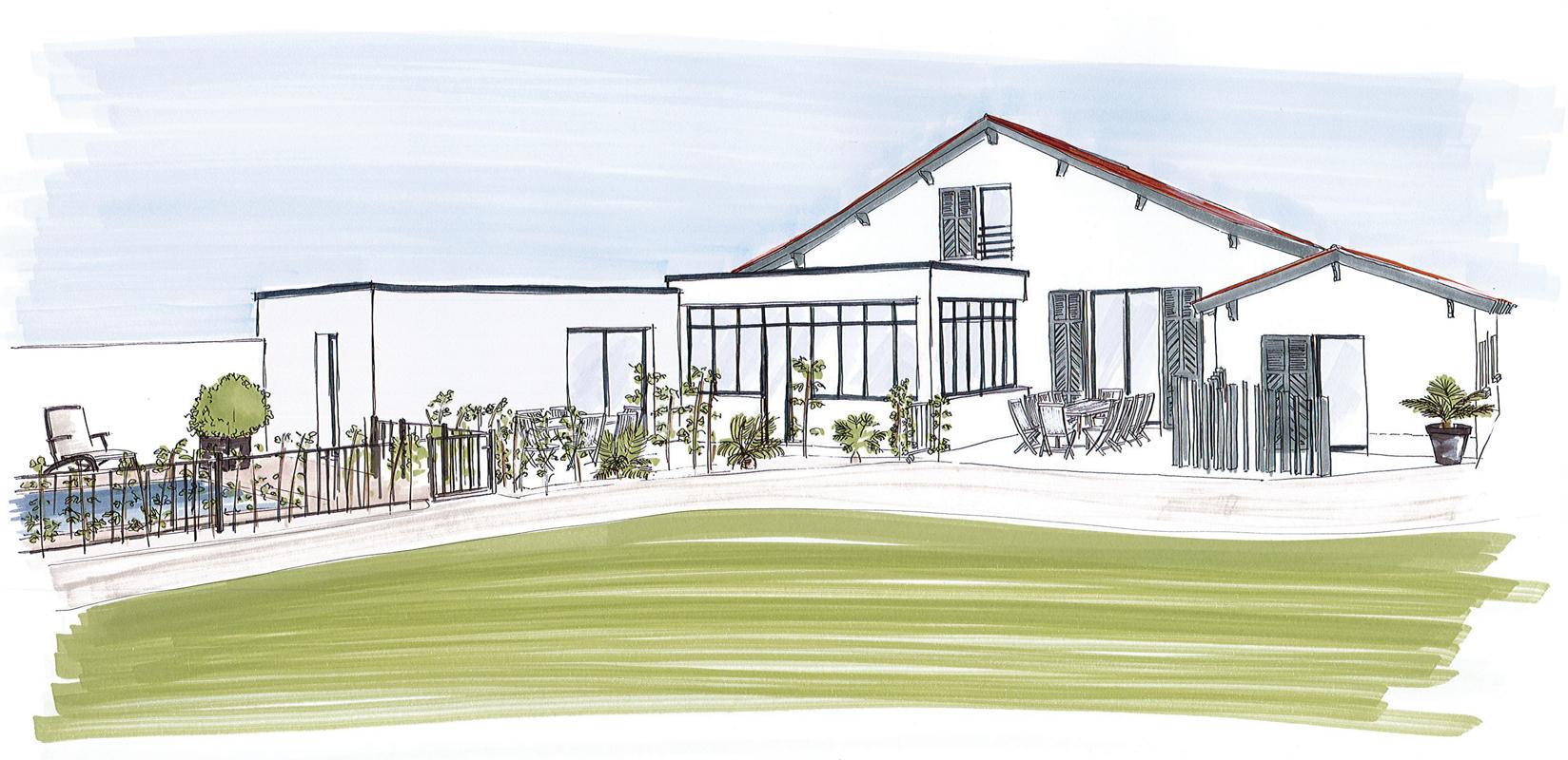 Projet extension de maison - St-Hilaire-de-Riez