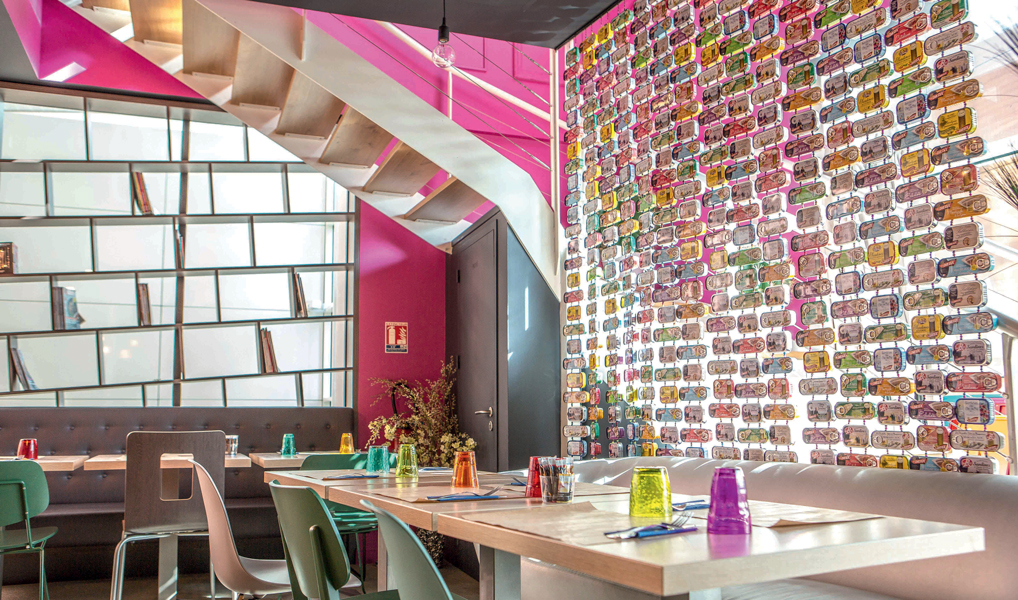 Conception et aménagement d'un restaurant - St-Gilles-Croix-de-Vie