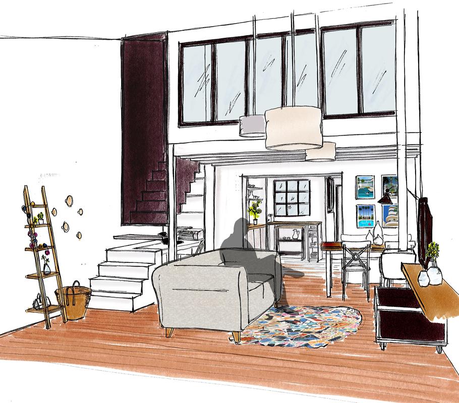 Projet rénovation maison - La Chaume