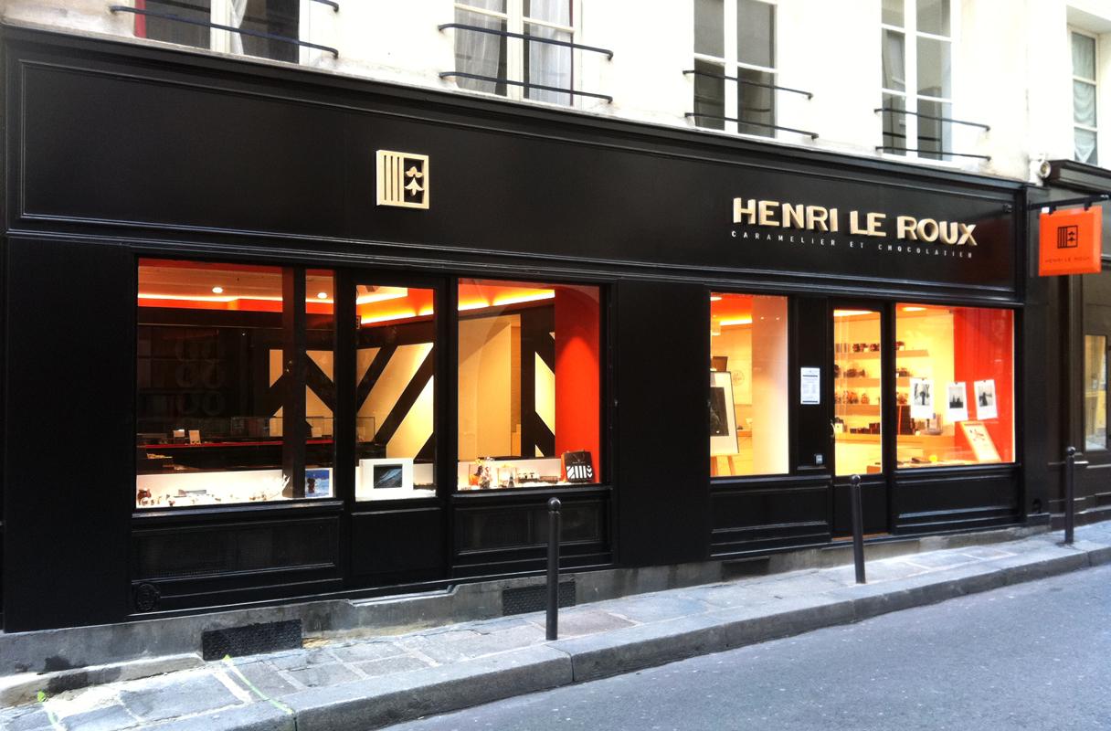 Boutique Henrie Leroux - St Germain des Prés