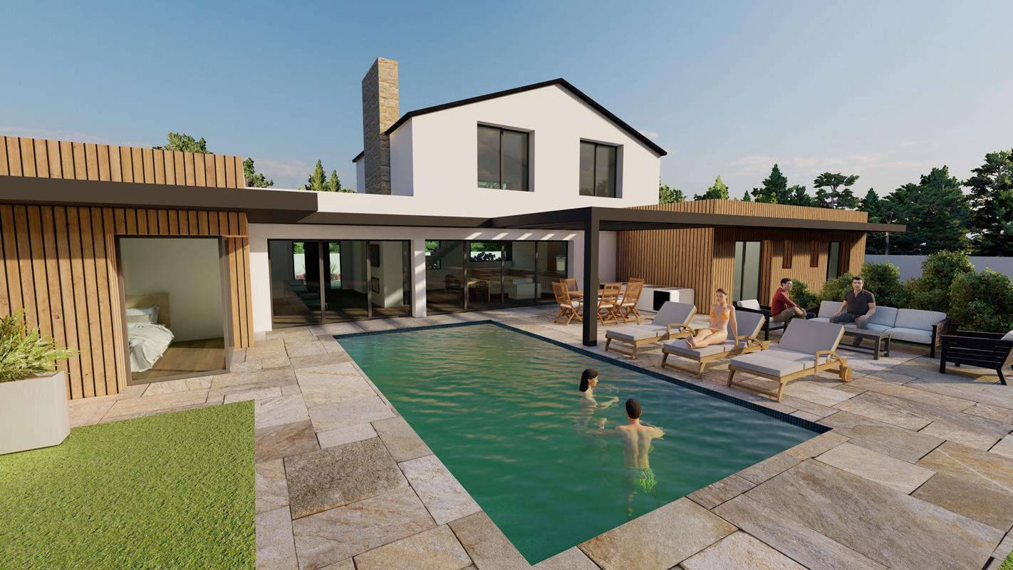 Projet construction maison - Saint-Jean-de-Monts